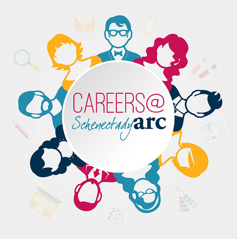 SchenectadyARC has many exciting career opportunities. Explore them by clicking careers at the top of this page.</a>